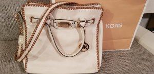 Michael Kors Crossbody bag grey brown-natural white