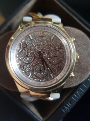 Michael Kors Watch With Metal Strap light pink