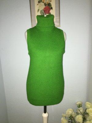 MK wunderschöne grüne Rollkragen Weste