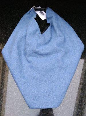 MM6 Maison Margiela Handtasche Schultertasche Shopper mit Lederbesatz