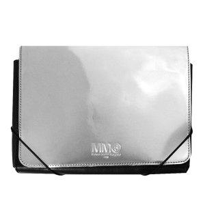 Maison Martin Margiela Pochette silver-colored leather