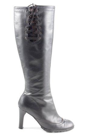 MNG Absatz Stiefel schwarz Casual-Look