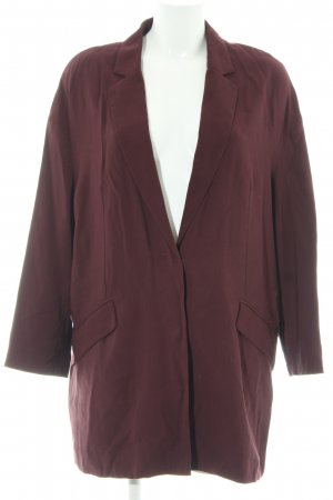 MNG Basics Boyfriend Blazer blackberry-red boyfriend style