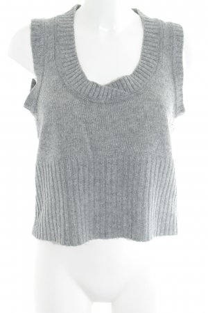 MNG Basics Fine Knitted Cardigan grey casual look