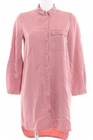 MNG Blusenkleid rosa-altrosa Casual-Look