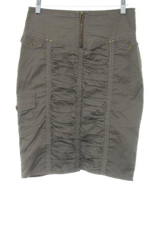 MNG Casual Sportswear Bleistiftrock khaki Casual-Look