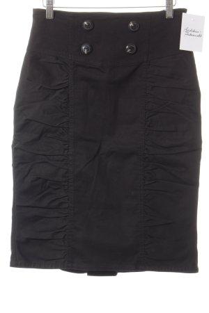 MNG Casual Sportswear Bleistiftrock schwarz Casual-Look