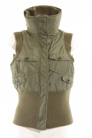 MNG Casual Sportswear Daunenweste khaki Casual-Look