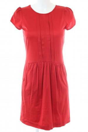 MNG Casual Sportswear Kurzarmkleid rot Casual-Look