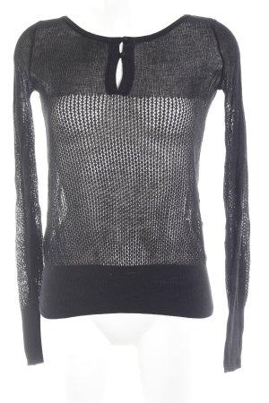 MNG Casual Sportswear Longsleeve schwarz Street-Fashion-Look