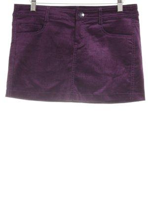 MNG Casual Sportswear Minirock lila Casual-Look