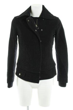 MNG Casual Sportswear Übergangsjacke schwarz Casual-Look
