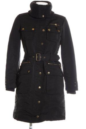MNG Casual Sportswear Winterjacke schwarz Casual-Look