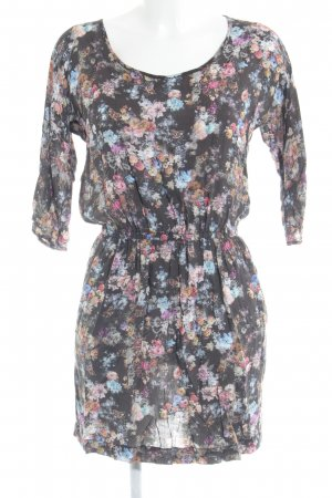 MNG Collection Blusenkleid Blumenmuster Casual-Look