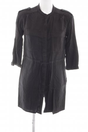 MNG Collection Blusenkleid schwarz Casual-Look