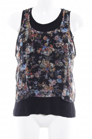 MNG Collection Blouse topje bloemenprint Boho uitstraling