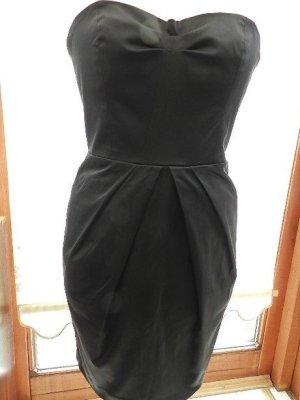 MNG Collection Off the shoulder jurk zwart