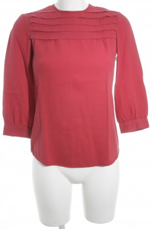 MNG Collection Langarm-Bluse rot Casual-Look