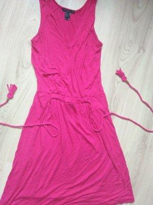 MNG collection Mango stylisches Kleid PINK Bändel 36 Fesch und Schick und Sexy