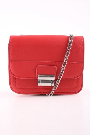 MNG Collection Minibolso rojo look casual
