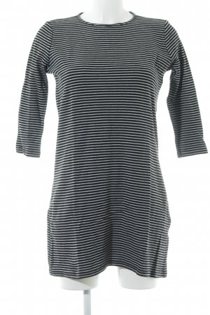 MNG Collection Sweater Dress black-white striped pattern casual look