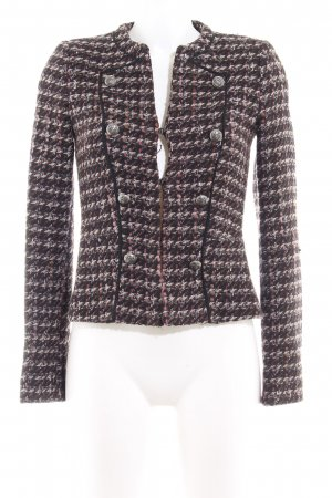 MNG Collection Wolljacke Webmuster Casual-Look