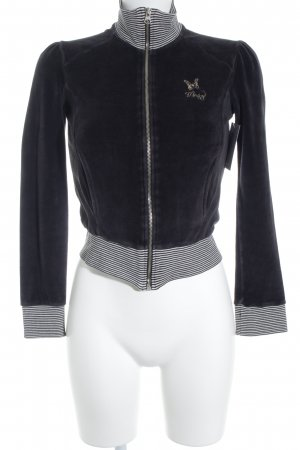 MNG Fleecejacke dunkelgrau Casual-Look
