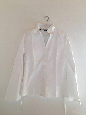 MNG Hemd-Bluse, fester BW-Stoff, weiß Gr. XS