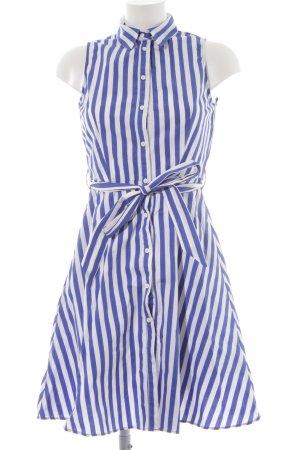 MNG Abito blusa camicia bianco-blu stile casual