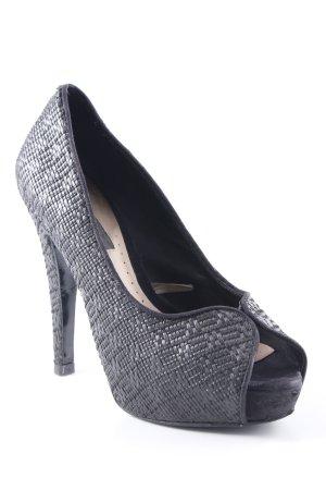 MNG High Heels dunkelgrau Business-Look