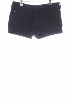 MNG Hot Pants schwarz Casual-Look
