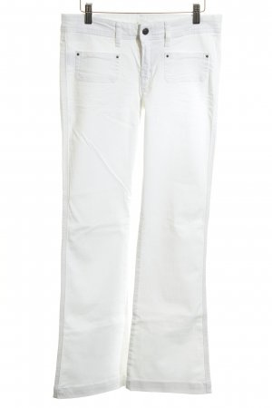 MNG Jeans Boot Cut Jeans weiß Casual-Look