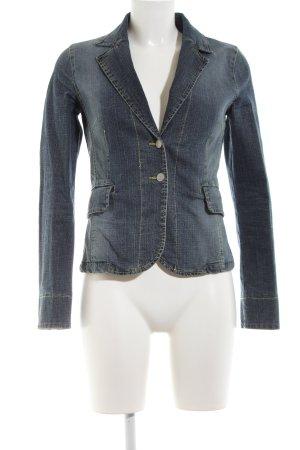 MNG Jeans Denim Blazer blue casual look