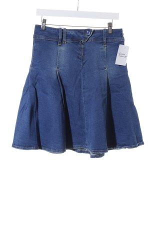 MNG Jeans Jeansrock blassblau Casual-Look