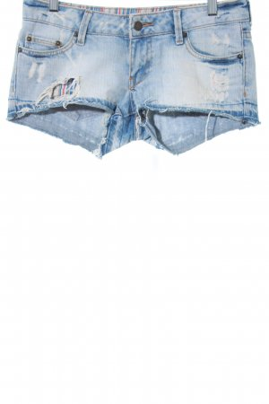 MNG Jeans Denim Shorts multicolored second hand look