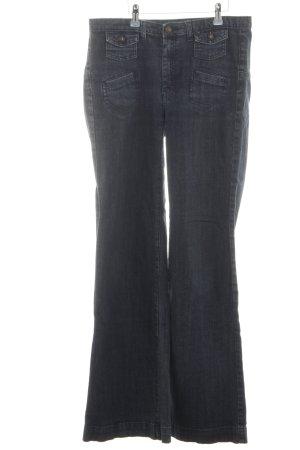 MNG Jeans Marlene jeans blauw-zwart simpele stijl