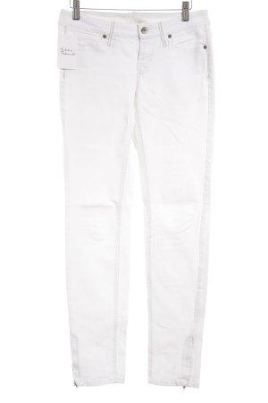 MNG Jeans Röhrenjeans wollweiß Jeans-Optik