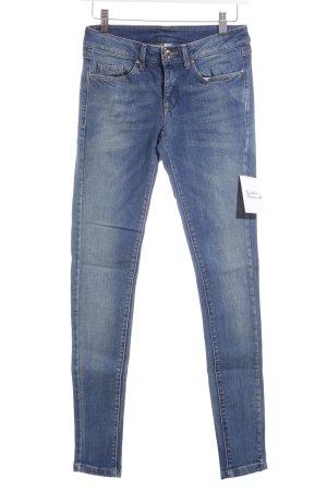 MNG Jeans Skinny Jeans graublau-blau Jeans-Optik