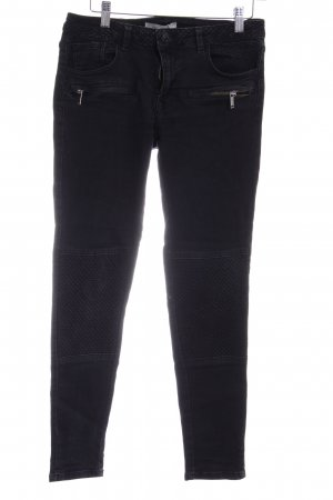 MNG Jeans Skinny Jeans schwarz Casual-Look
