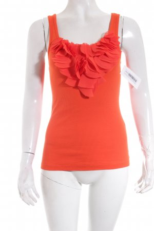 MNG Jeans Tanktop orange Casual-Look
