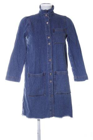 MNG Denim Blouse blue casual look