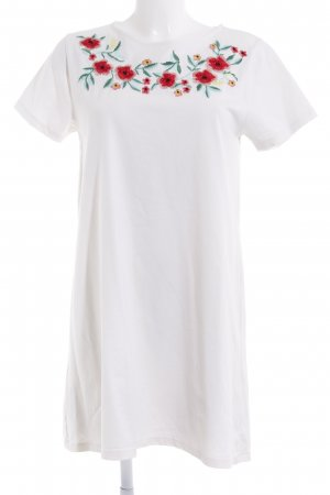 MNG Jerseykleid Blumenmuster Casual-Look