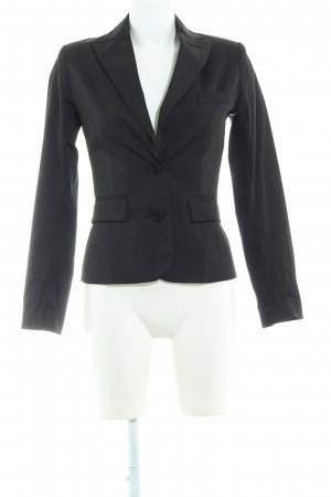 MNG Kurz-Blazer schwarz Business-Look