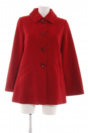 MNG Short Coat red casual look