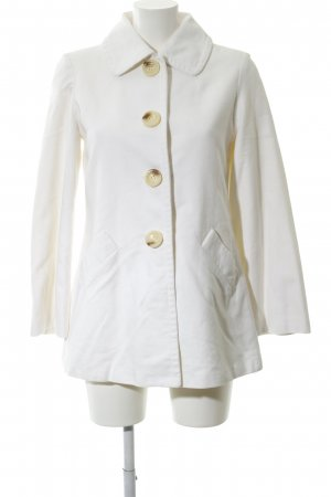 MNG Short Coat white business style