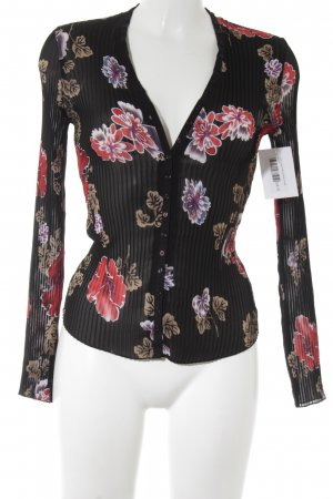 MNG Langarm-Bluse florales Muster Elegant