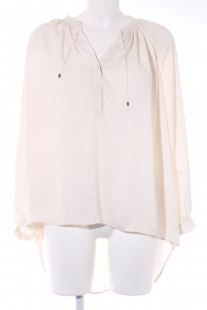 MNG Long Sleeve Shirt cream business style