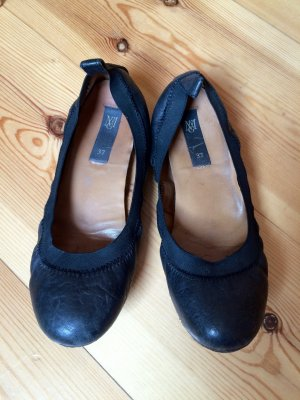 MNG Mango Ballerinas aus Leder Gr. 37