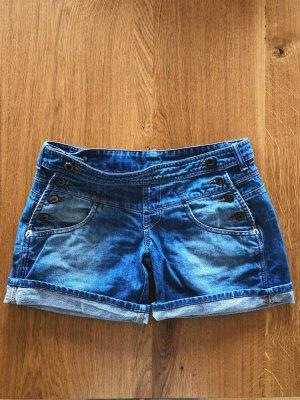 MNG Jeans Pantaloncino di jeans multicolore