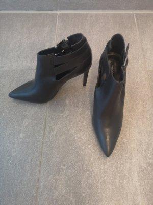 MNG Slip-on Booties black